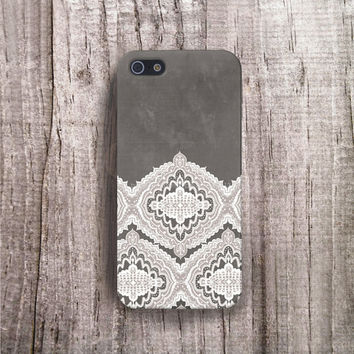 Lace iPhone 6 case Lace iPhone 5 case Lace iPhone 4 case Illustrated Lace Wedding iphone case wood iPhone 5s case white iphone 5 case boho