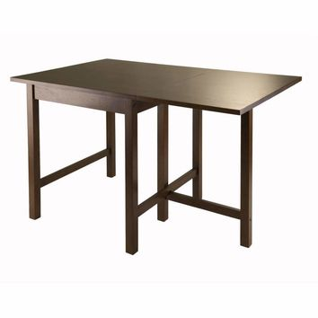Distinguished Piece of Lynden Drop Leaf Dining Table by Winsome Woods