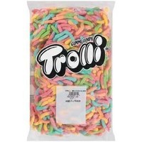 Trolli Sour Bright Gummy Worms 5LB Bag