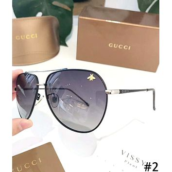 GUCCI 2019 new men and women models HD polarized sunglasses #2