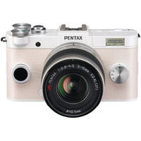 PENTAX 06189 12.4 Megapixel Q-S1 Digital Camera (02 Zoom; Pure White)