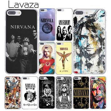 PHONE CASE NIRVANA Kurt Cobain Hard Cover Case for iPhone X XS Max XR 6 6S 7 8 Plus 5 5S SE 5C 4S 10 Phone Cases 7Plus 8Plus