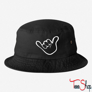 hang loose bucket hat