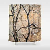 Natures Abstract Shower Curtain by TaLins