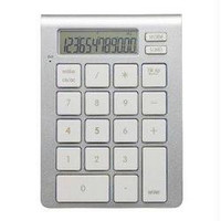 THE ICALC  BLUETOOTH  CALCULATOR KEYPAD AESTHETICALLY MATCHES THE LOOK AND FEEL