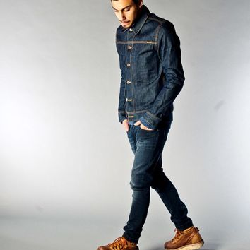 Sonny Dry Dirt Organic Denim - Nudie Jeans Co Online Shop