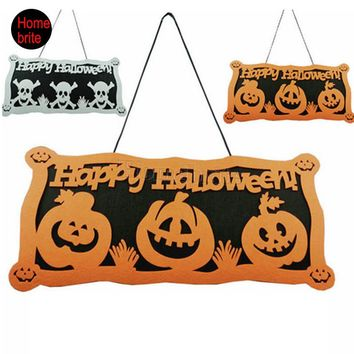 Halloween Decoration Skull Hanging Halloween Window Decoration Halloween Pumpkin Hangtag Strips Accessories HW058