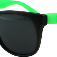 Thrasher Logo Sunglasses Black/Green