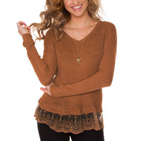 Rayna Lace Sweater