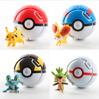 Self gripping the ball Toys Pokemon Elf Ball Pokemon Balls Children's Educational Toys——Christmas Gift