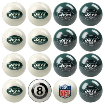 New York Jets NFL 8-Ball Billiard Set
