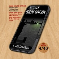 The Great Gatsby Green - Design on Hard Case For iPhone 4/4S Case