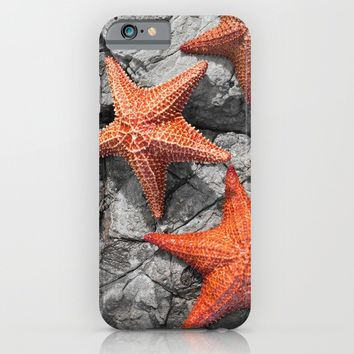 Starfishes iPhone & iPod Case by Cinema4design