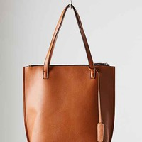 Silence + Noise Zip Pebbled Tote Bag