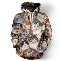 Cats Hoodie - READY TO SHIP
