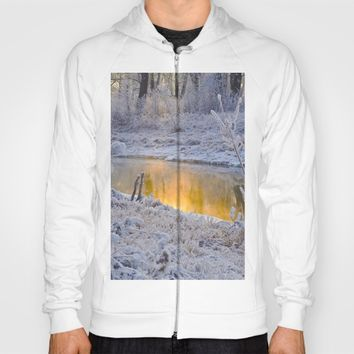 It's Gold Outside Hoody by Mixed Imagery