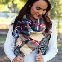 The Harvest Plaid Scarf