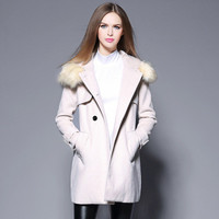 Fashion Women Wool  Sweater Cardigan Coat Jacket Outerwear _ 9388