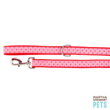 Martha Stewart Pets® Spring Shower Polka Dot Dog Leash | Leashes | PetSmart