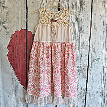 Women's Clothing / Upcycled / Romantic / Babydoll Dress