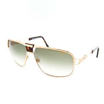 Cazal 9039 Gold Tortoise/Smoke Gradient Sunglasses