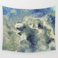 Clouds Vincent Style Wall Tapestry by Regan's World