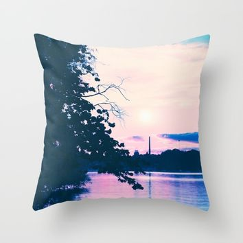 Pastel vibes 33 Throw Pillow by Viviana Gonzalez