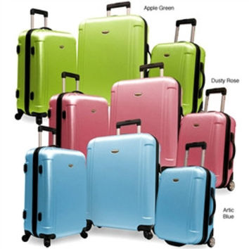 Lightweight Durable 3-Piece Hardside Spinner Luggage Set