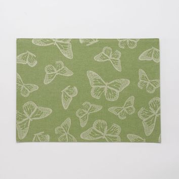 SONOMA life + style Butterfly Placemat (Green)