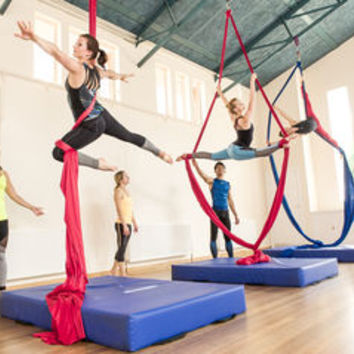 aerial silks beginners experience for one by the indytute | notonthehighstreet.com