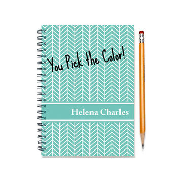 custom planner, weekly planner, personalized daily calendar, 12 month scheduler, custom gift, customizable planner book, SKU: pl chevron