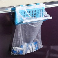 Garbage Bag Hanger Plastic Storage Hooks For Kitchen Organizer Space Saver
