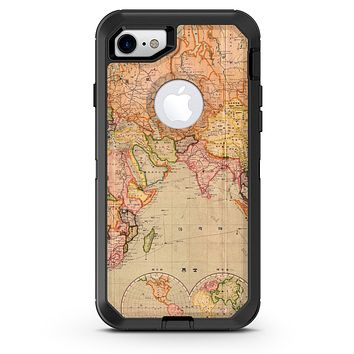 The Western World Map - iPhone 7 or 8 OtterBox Case & Skin Kits