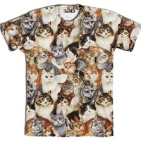 ☮♡ Cats on Cats on Cats Shirt ✞☆