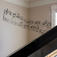 Bar of Music - Vinyl Wall Decal