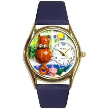 Aristo Cat Watch Small Gold Style