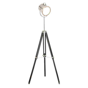 Benzara Studio Canister Floor Lamp, Adjustable Height Floor Lamp