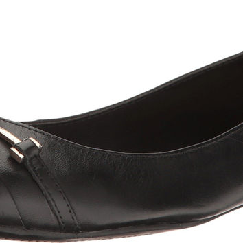 Aldo Women's Rayanne Ballet Flat Black Leather 5 B(M) US '