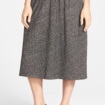 Women's Eileen Fisher Cotton & Wool Blend Skirt,