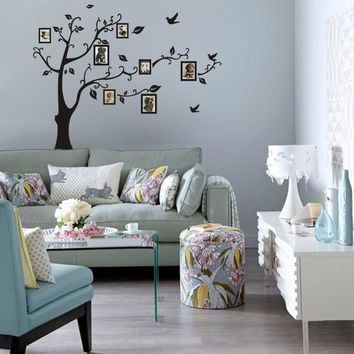 Removable Memory Tree Wall Frame Decals Stickers