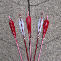 Arrow Red, Pink and White Love Set