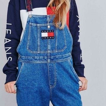 VONE5YD Tommy Jeans x Urban Outfitters Fashion Romper Jumpsuit Pants