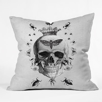 Elo Designs Life After Death Throw Pillow