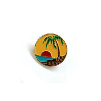 Enamel Pin Sunset