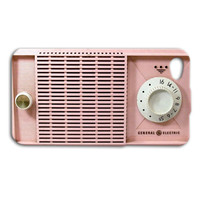 Retro Radio Case Cute Pink Case Pretty iPhone Case iPhone 4 Case iPhone 5 Case iPhone 4s Case iPhone 5s Case iPod 4 Case iPod 5 Case Cover
