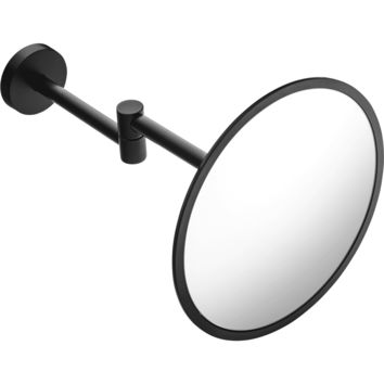 Britta Wall Mounted 3X Cosmetic Makeup Magnifying Mirror Brass Coated
