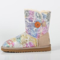 UGG winter tube female models waterproof non-slip thick warm snow boots