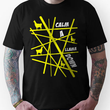 The Mighty Boosh - Calm A Llama Down Unisex T-Shirt