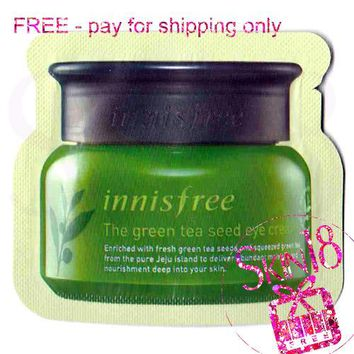 Freebies - Innisfree The Green Tea Seed Cream (Sample Pack)  *exp.date 03/20