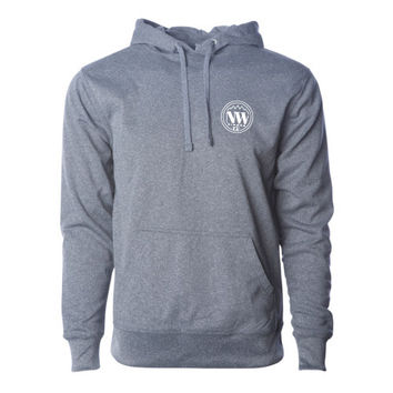 Mark Signature Hoodie Gunmetal Heather